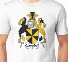 Campbell Coat of Arms / Campbell Family Crest Unisex T-Shirt