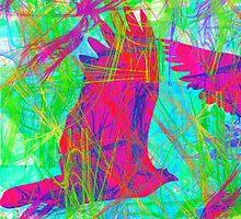 Birds in Flight by Icarusismart