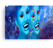 Space Vampires Canvas Print