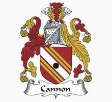 Cannon Coat of Arms / Cannon Family Crest One Piece - Long Sleeve