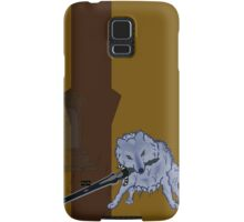 Great Grey Wolf Sif and Artorias Samsung Galaxy Case/Skin