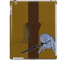 Great Grey Wolf Sif and Artorias iPad Case/Skin