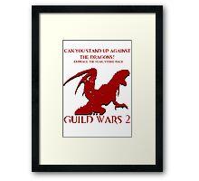 Tequatl Themed GW2 Poster Framed Print