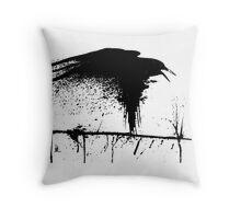 the crow 3 Throw Pillow