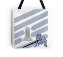Great Grey Wolf Sif and Artorias Tote Bag