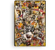Frank Sinatra, King Kong, Marlene Ditrich Canvas Print
