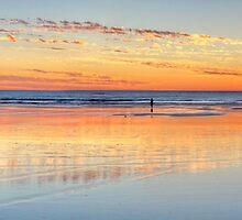 cable beach setting sun by Elliot62