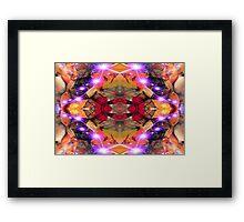 Organic Star Framed Print