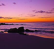 Sunset at Binalong Bay, East Coast Tasmania 2014 by fantasytripp