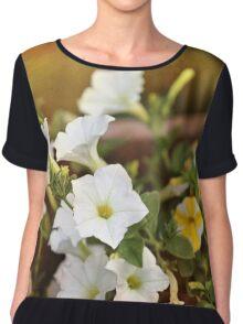Romantic Florals Chiffon Top