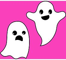 Real Creeps Pocket Ghosts Photographic Print