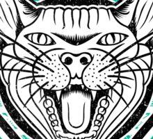 Cat Scratch Sticker