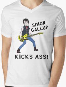 Simon Kicks Ass Mens V-Neck T-Shirt