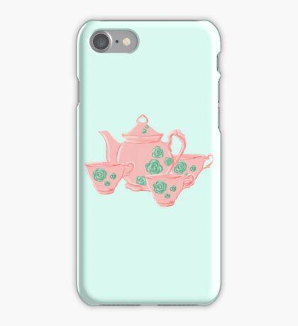 Michela's Teaset  iPhone Case/Skin