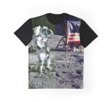 WALKING ON THE MOON-2 Graphic T-Shirt