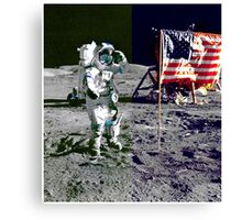 WALKING ON THE MOON-2 Canvas Print