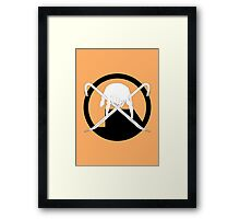 Headcrab's Jolly Roger Framed Print
