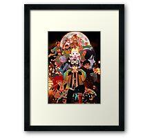 Ao no Exorcist Framed Print