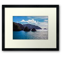 New Zealand coastline Framed Print