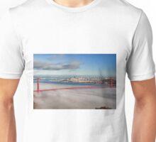 San Francisco Cityscape Golden Gate Bridge Unisex T-Shirt