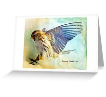 Flight I (All proceeds donated to Cancer Research) Greeting Card