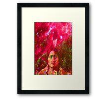 Ghost of Sitting Bull Framed Print