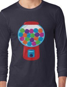 Retro Gumball Machine Long Sleeve T-Shirt