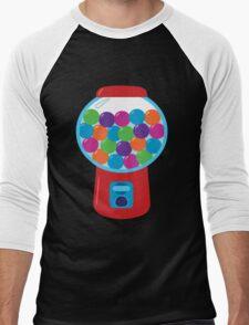 Retro Gumball Machine Men's Baseball ¾ T-Shirt