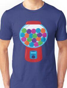 Retro Gumball Machine Unisex T-Shirt