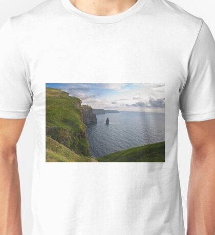 Cliffs Of Moher, Sunset, County Clare, Ireland Unisex T-Shirt