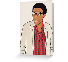 That's Childish, Gambino. Greeting Card