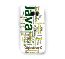 programming languages cloud Samsung Galaxy Case/Skin