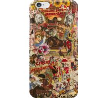 Vintage Circus iPhone Case/Skin