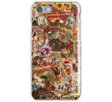 Vintage Circus iPhone Case/Skin