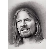 Boromir: The Lord of the Rings Photographic Print