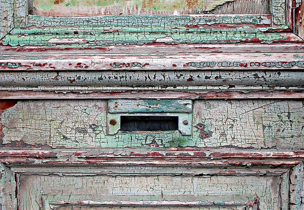 Mail Slot  by Ethna Gillespie