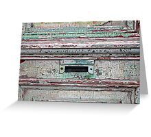 Mail Slot  Greeting Card