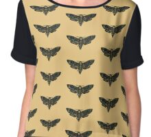 Death's-head Hawkmoth Chiffon Top