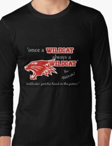 Wildcats Long Sleeve T-Shirt