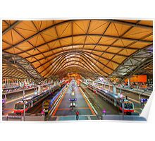 Southern Cross Station - Melbourne Poster