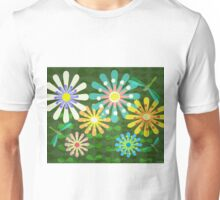 In The Garden Among The Flowers Unisex T-Shirt