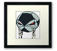 Angry ball Framed Print