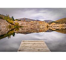 Blue Lake, NZ Photographic Print