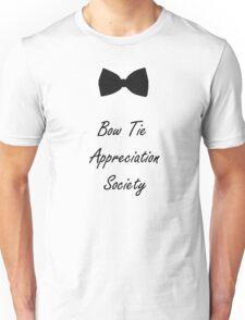 BowTie Appreciation Society (Black) Unisex T-Shirt