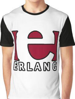 erlang programming language Graphic T-Shirt