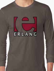 erlang programming language Long Sleeve T-Shirt