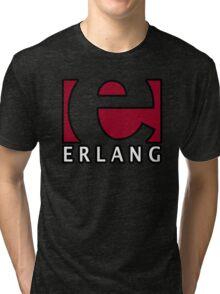 erlang programming language Tri-blend T-Shirt