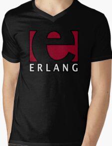 erlang programming language Mens V-Neck T-Shirt