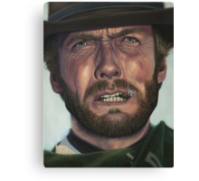 Clint Eastwood- The Man with No Name Canvas Print