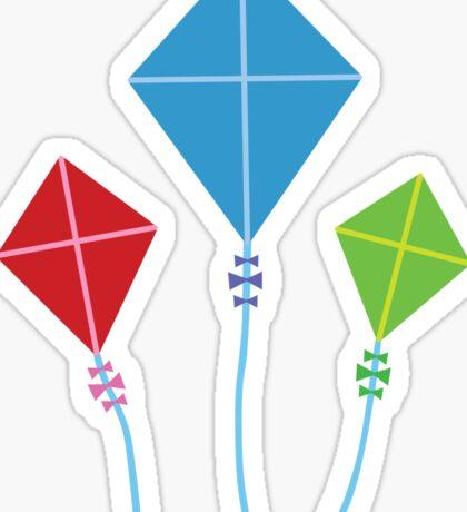 Vintage Kites Sticker
